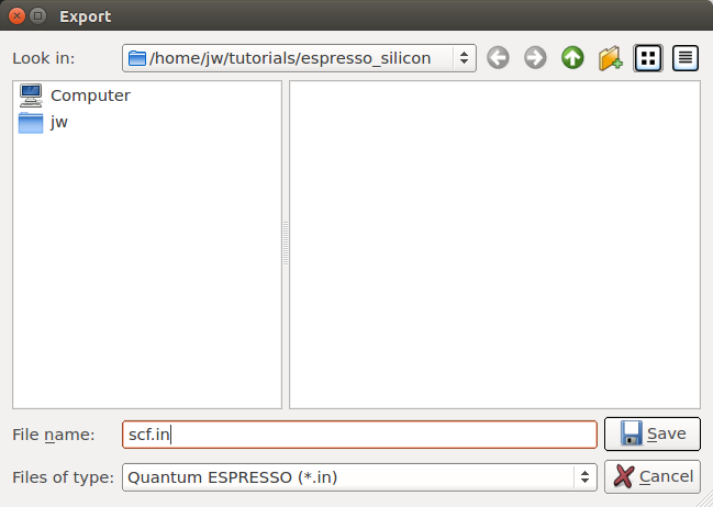QuantumATK as GUI for Quantum ESPRESSO | QuantumATK P